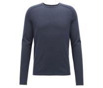 Pullover aus gestrickter Baumwolle