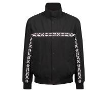 Leichte Jacke aus wasserabweisendem Gewebe