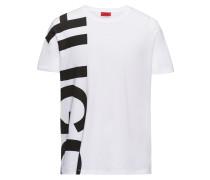 Oversized T-Shirt aus Baumwoll-Jersey