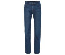 Relaxed-Fit Jeans aus ringgesponnenem Stretch-Denim