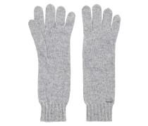Lange Strick-Handschuhe