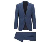 Regular-Fit Anzug aus italienischer Schurwolle