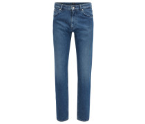 Relaxed-Fit Jeans aus italienischem Stretch-Denim
