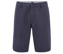 Slim-Fit Shorts aus Baumwoll-Mix