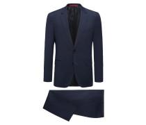 Regular-Fit Anzug aus reiner Schurwolle