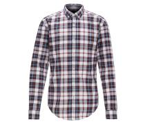 Slim-Fit Hemd aus Oxford-Baumwolle