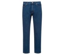 Regular-Fit Unisex-Jeans aus Denim