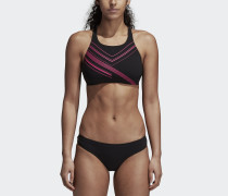 Two-Piece Placed-Print Bikini