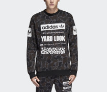 Street Graphic Camouflage Sweatshirt