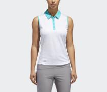 Printed Sleeveless Poloshirt