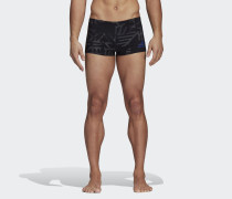 Graphic Boxer-Badehose