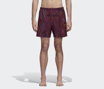 Warped Stripe Swim Badeshorts
