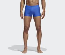 Allover Print 3-Streifen Boxer-Badehose