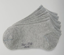 Marc O'Polo Sneaker-Socken grau-mel.