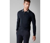 Polo-Shirt Piqué Longsleeve
