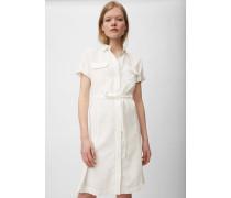Marc O'Polo Hemdblusenkleid White Shirt Tencel Wash