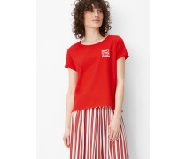 Marc O'Polo T-Shirt flame scarlet