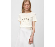 Marc O'Polo T-Shirt multi/pale oyster