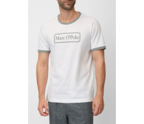 Marc O'Polo Lounge-Shirt weiss