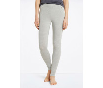 Marc O'Polo Lounge-Leggings grau-mel.
