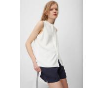 Marc O'Polo Ärmellose Bluse White Shirt Tencel Wash