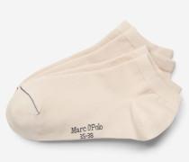 Marc O'Polo Sneaker-Socken beige