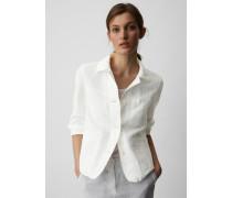 Marc O'Polo Blazer-Jacke white linen