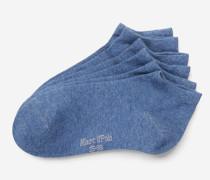 Marc O'Polo Sneaker-Socken jeansblau