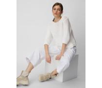 Marc O'Polo Strickpullover white linen