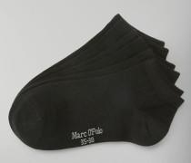 Marc O'Polo Sneaker-Socken schwarz