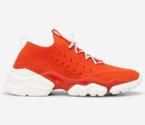Marc O'Polo Strick-Sneaker  orange