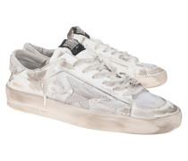 Limitierter Destroyed Leder-Sneaker