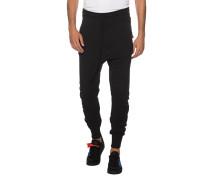 Drop-Crotch Jogginghose