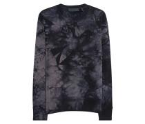 Sweatshirt im Acid-Design