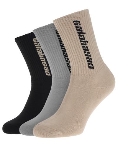 3 Paar sportliche Socken