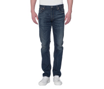 Slim-Fit Jeans im Washed-Look