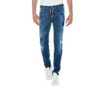 Slim-Fit Jeans im Destroyed Look