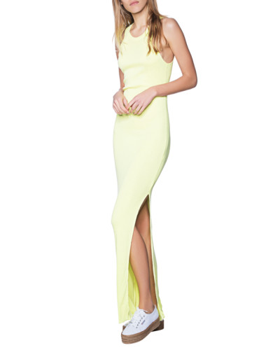 Maxi-Kleid in Neon