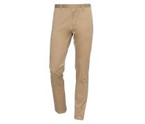 Schmale Baumwoll-Stretch-Hose