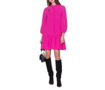 Kleid mit Volants-Saum