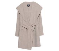 Woll-Jacke mit Gürtel