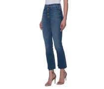 High-Waist Bootcut-Jeans