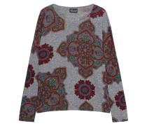 Pullover mit Paisley-Motiven