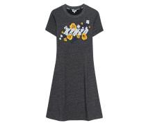 Sportliches Jersey-Kleid mit Logo-Patch