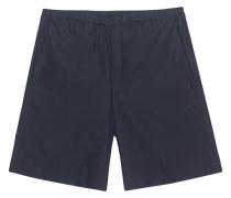 Mittellange Baumwoll-Shorts  // Ari Pop Navy