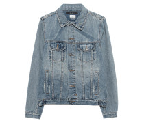 Washed-Out Jeansjacke