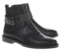Leder-Boots mit Schnalle