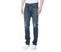 Gewaschene Slim-Fit-Jeans