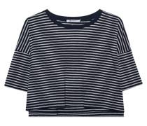 Gestreiftes kurzes T-Shirt