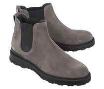 Veloursleder-Chelsea-Boots